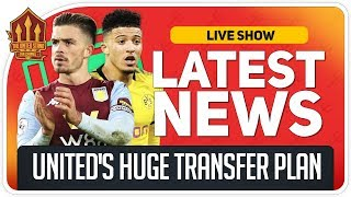 Grealish, Sancho & Harry Kane Transfers Incoming? Man Utd News Now