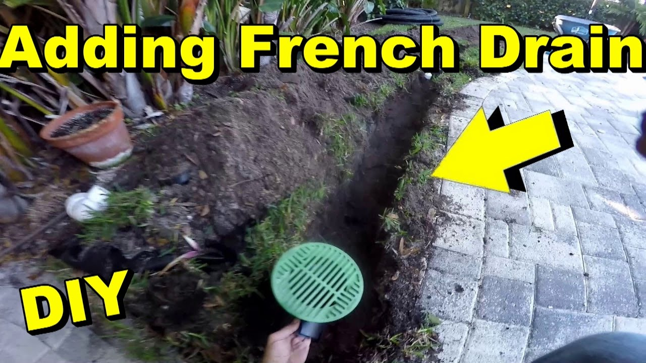 How To Extend The Yard Drain Or French