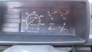 Заменить трос спидометра и снять панель приборов ВАЗ 2109