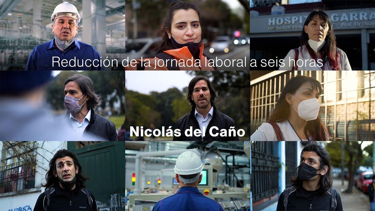 Reducción de la jornada laboral a seis horas, Nicolás del Caño diputado por la Prov. de Buenos Aires