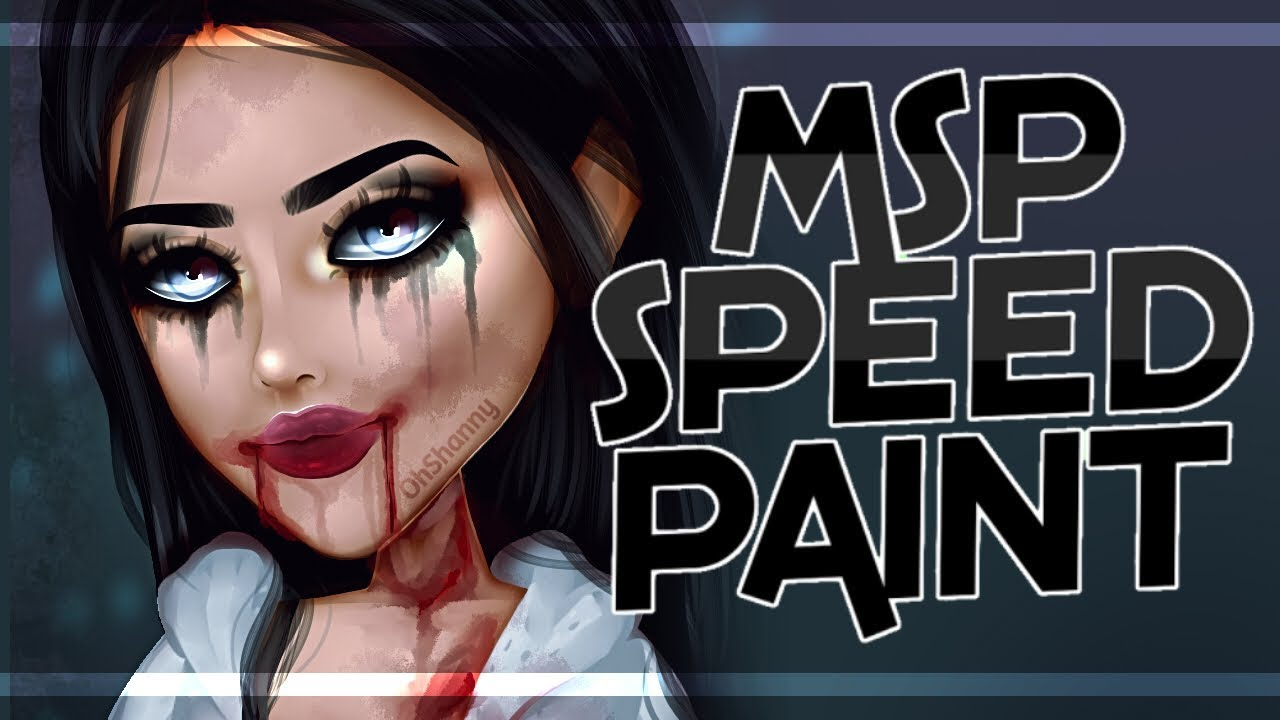 Jennifers Body Msp Base Edit Speedpaint Youtube