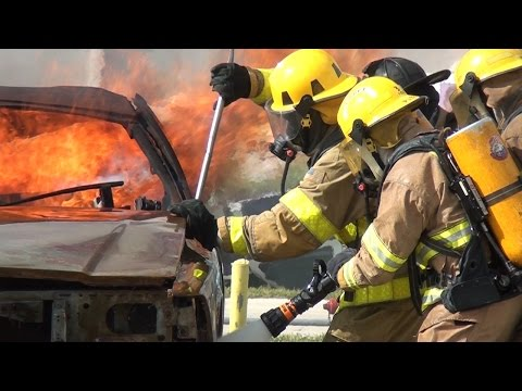 Palm Beach State Fire academy Class 90 HD official video
