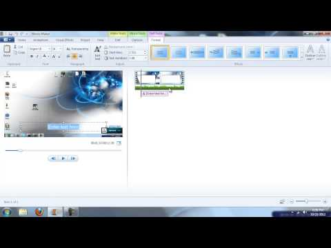 How to Make an Amazing Intro with Movie Maker 2013