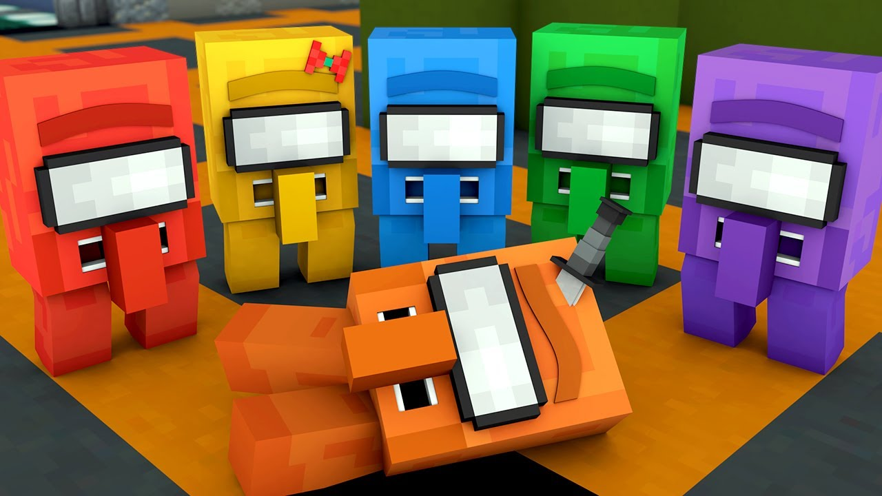 Among Us Villager Life - Minecraft Animation