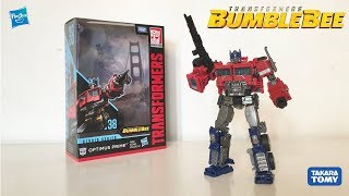 Transformers Studio Series Voyager Class 38 Optimus Prime Bumblebee Movie Review