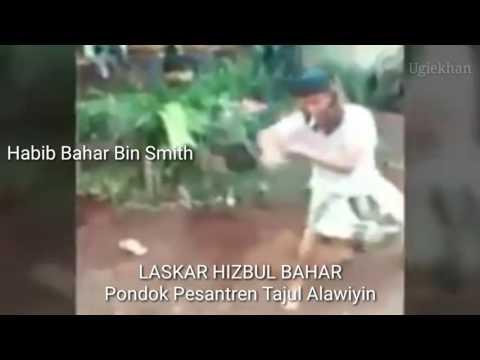 LUAR BIASA...!!! JURUS HB.Bahar bin Smith Menggunakan GOLOK.
