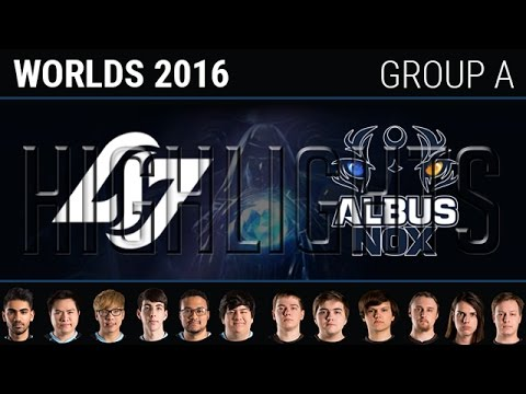CLG vs Albus Nox Luna Highlights, S6 World Championship 2016 Group A Day 3,  CLG vs ANX