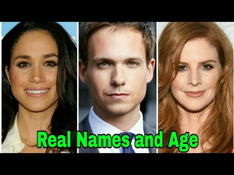 Suits Cast Real Names and Age  Season 8  2018