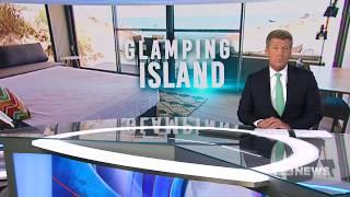Glamping Island | 9 News Perth