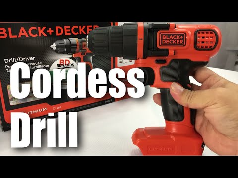 BLACK+DECKER LDX120C 20-Volt MAX Lithium-Ion Cordless Drill/Driver Review