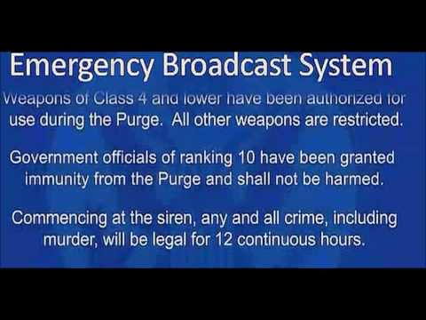 The Purge - Announcement