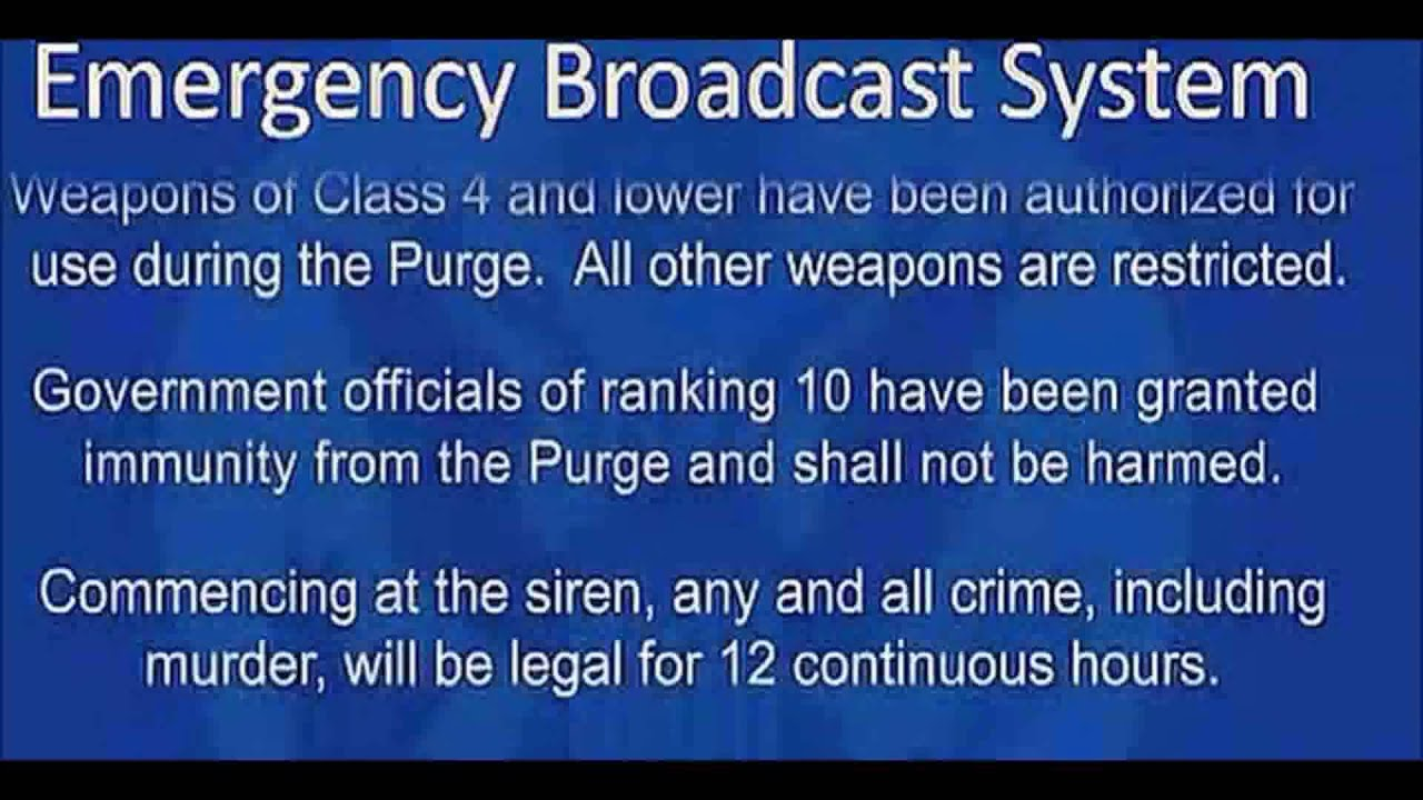 Quotes From The Purge The Purge  Announcement  Youtube