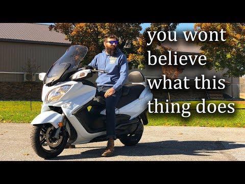 Suzuki Burgman 650 executive test Drive:srkcycles