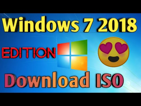 Download and Install Windows 7 2018 Edition AIO in 2 minutes || Windows 7  2018 Edition | BrijkTech