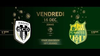 Video Gol Pertandingan Angers SCO vs FC Nantes
