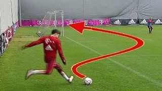 Die 5 besten Trainings-Tore ! (mit Ronaldo, Messi, Lewandowski..)