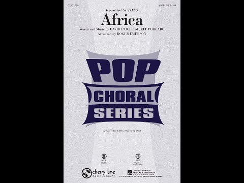 Africa (SATB) - Arranged by Roger Emerson