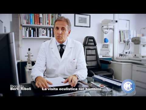 Riccardo Berti Riboli - La visita oculistica nel bambino