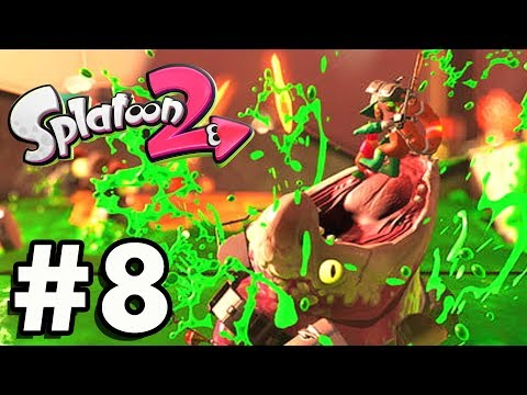 "Splatoon 2 ""IMPOSSIBLE BOSS"" Gameplay Part 8 (Nintendo Switch) 