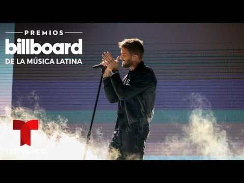 Pablo Alborán habló de sus colegas en el homenaje a Manzanero en Premios Billboard 2020