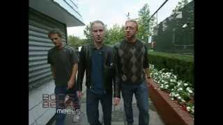 Boris Becker meets John McEnroe