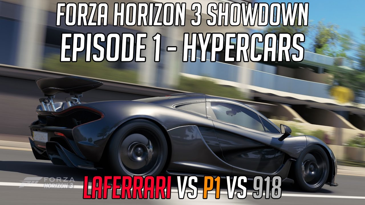 Forza Horizon Showdown Episode Hypercars Laferrari