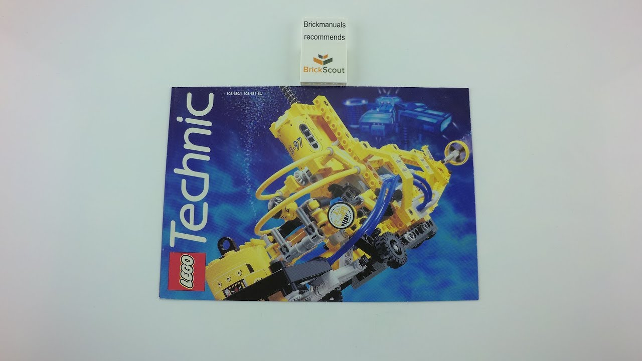1997 Lego Medium Technic Catalogue Review Discover Toy History In