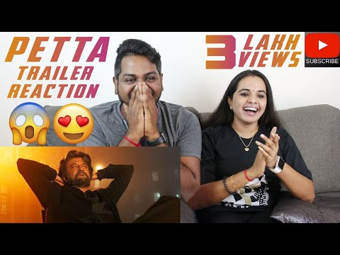 Petta Trailer Reaction | Malaysian Indian Couple | Superstar Rajinikanth | Karthik Subbaraj