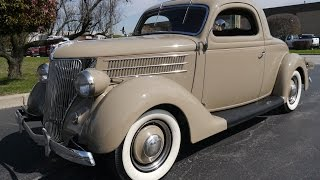 1936 Ford 3 Window Coupe Deluxe Coupe ***FOR SALE***