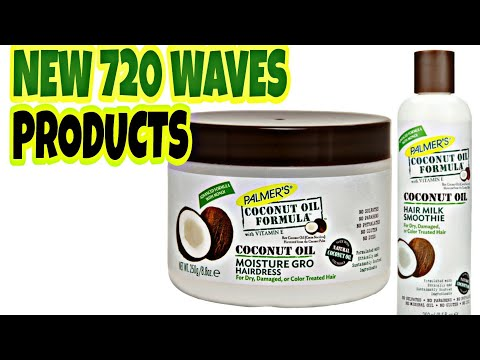 NEW 720 WAVES PRODUCTS COCONUT OIL