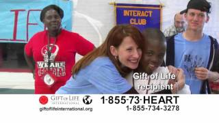 Gift of Life International PSA