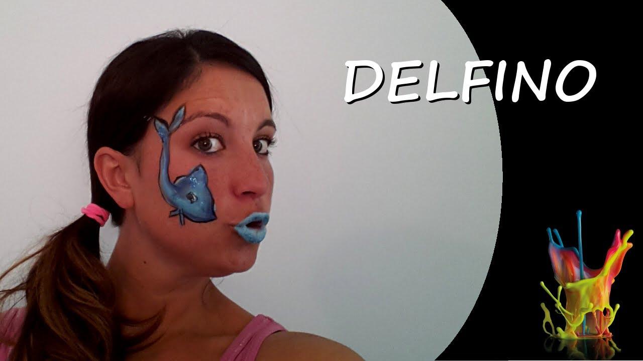 Preferenza Tutorial truccaviso - Delfino - Truccabimbi - Dolphin Face  JX35