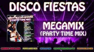 "DISCO FIESTAS MEGAMIX ""PARTY TIME MIX"" mega/mix /80s party mix/spain /musica para bailar en fiestas"