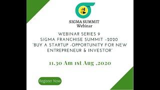 """""""Buy a start up  Opportunity for New Entrepreneur & Investor """" Webinar Series 9"""