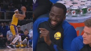 Draymond Green Mocks Javale McGee's 3 Pointer! Lakers vs Warriors
