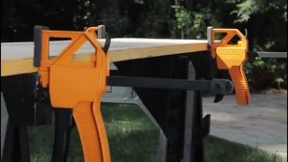 Worx clamping sawhorses (1 of 2)