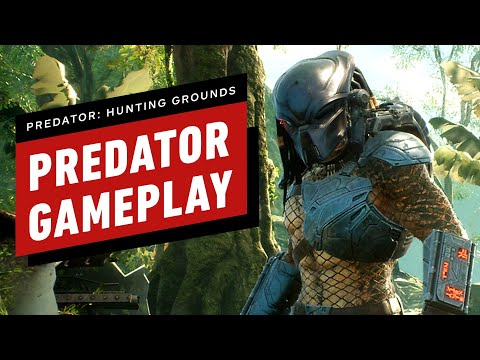 9 Minutes Of Predator: Hunting Grounds Predator Gameplay