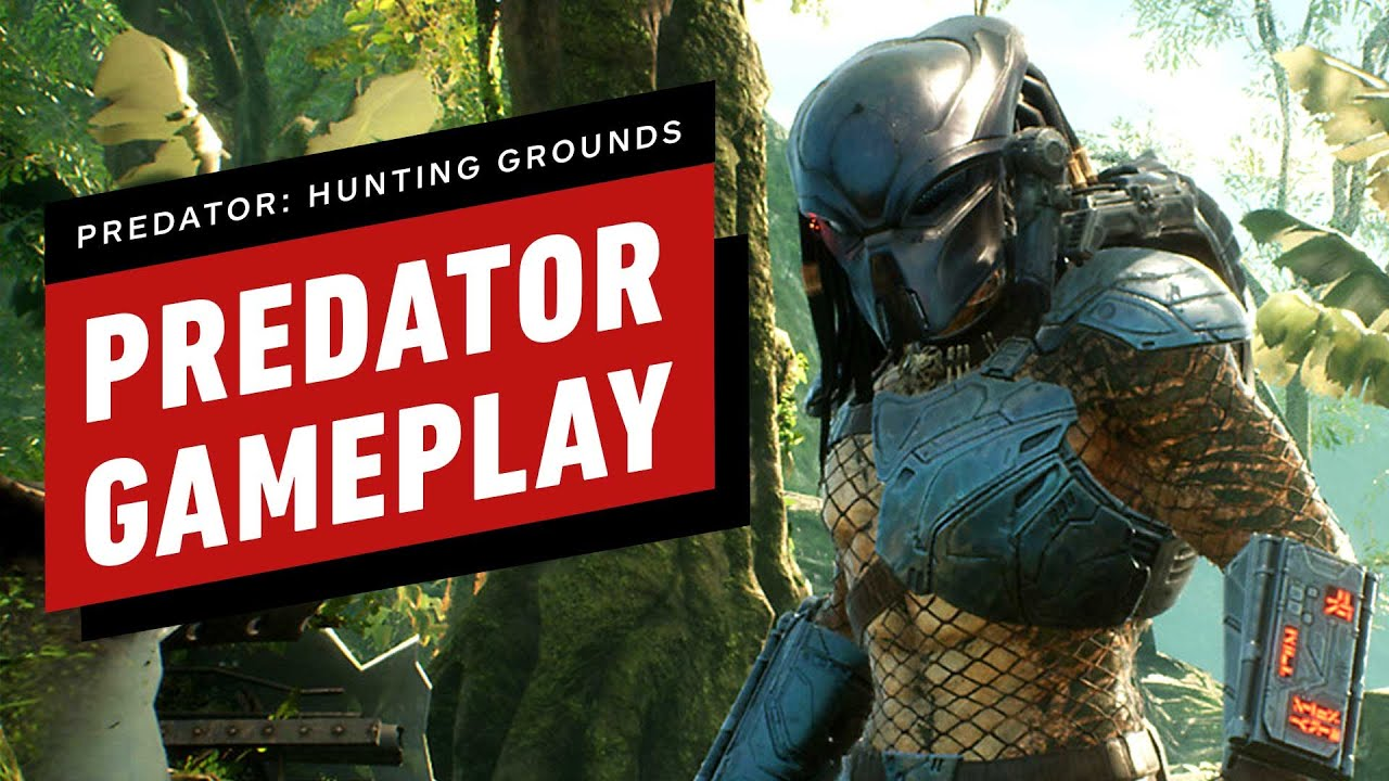 9 minutos de Predator: Gameplay Predator de Hunting Grounds + vídeo