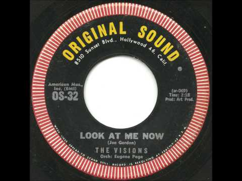 Visions - Look At Me Now - Great, Soulful Mid Tempo Doo Wop