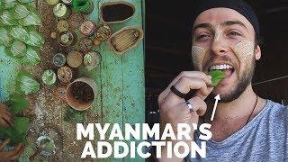 Myanmar's Addiction : Trying Kwun-ya 🇲🇲Myanmar Travel
