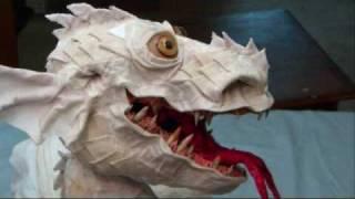 דרקון מעיסת נייר