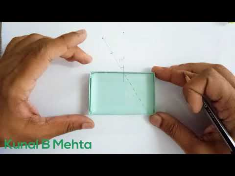 Refraction Through glass slab : Lateral Shift Experiment