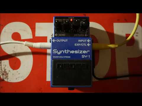 Boss SY-1 Synthesizer - Organ Soundscape Demo