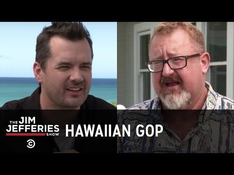 """Start Acting Like a F**king Republican"" - The Hawaiian GOP's Civil War: The Jim Jefferies Show"