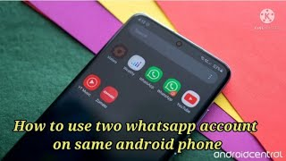 How to use two whatsapp , two facebook account on same android device // Dual messenger screenshot 2