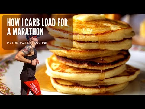 How I Carb Load Before A Marathon