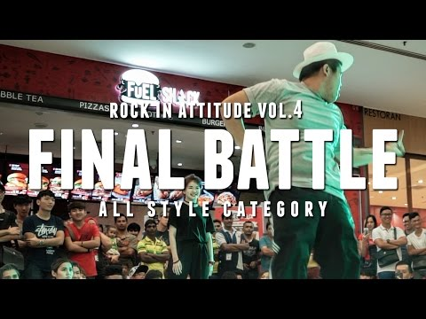 Xiao M vs Boogaloo Hanz | All Style Final | Rock In Attitude Vol. 4 Malaysia | RPProductions