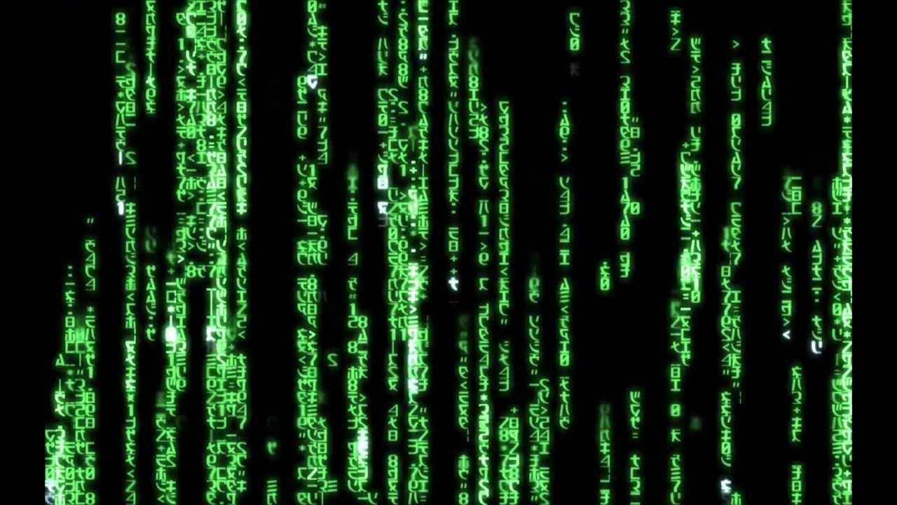 V Letter 3d Wallpaper Matrix Code Green 1440x900 For Dreamscene Youtube