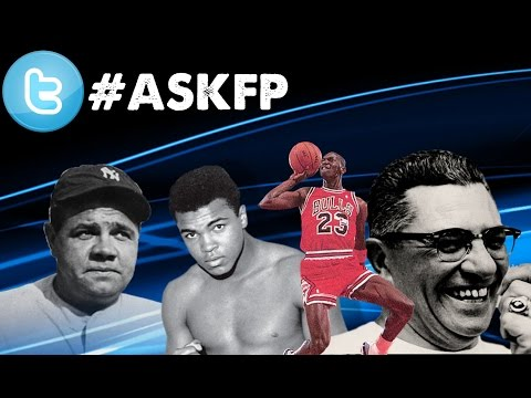 Jordan, Ruth, Lombardi, Ali | Who Was More Important to Their Sport | #askfp.