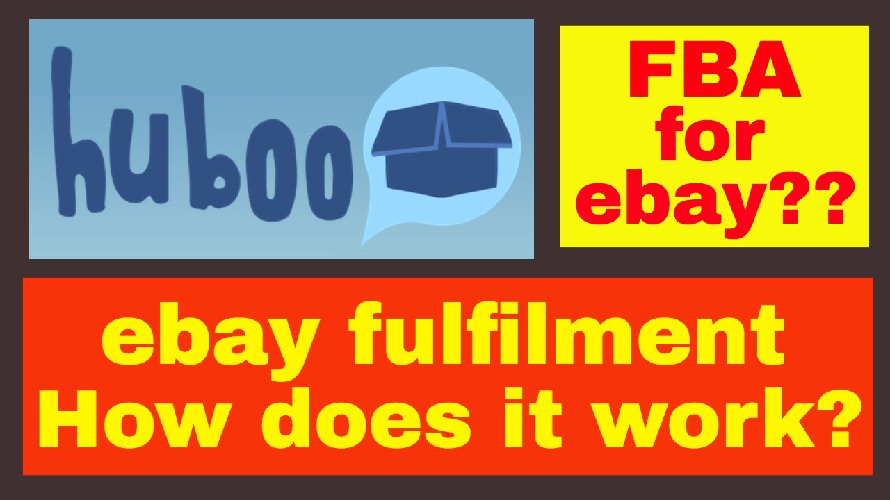 Huboo: ebay fulfilment company (FBA for ebay) How does it work? (#AD)